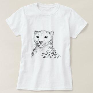 Cheetah Sketch. T-Shirt
