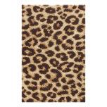 Cheetah Skin Print Stationery Design