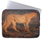 Cheetah South Africa at Sunset Laptop Sleeve