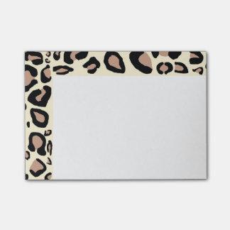 Cheetah Spots Post-Its