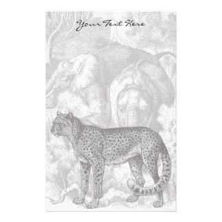 Cheetah Stationery