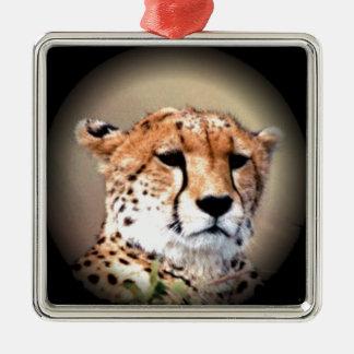 Cheetah Tear Marks Hakunamatata Christmas Tree Ornaments