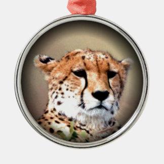 Cheetah Tear Marks Hakunamatata Ornament