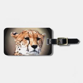 Cheetah Tear Marks Hakunamatata Luggage Tag