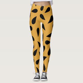 Cheetah Teardrop Leggings