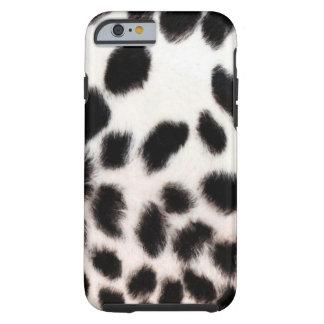 Cheetah White Tough iPhone 6 Case