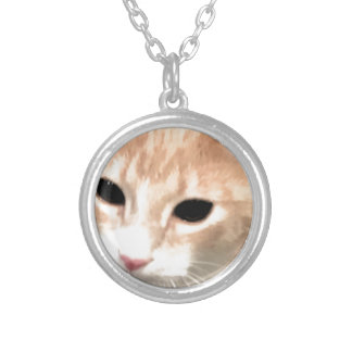 Cheeto Silver Plated Necklace
