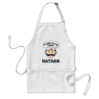 Chef Apron Worlds Best Design Personalized