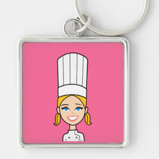 Chef Art Large Keychain