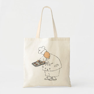 Chef Baking Tote Bag