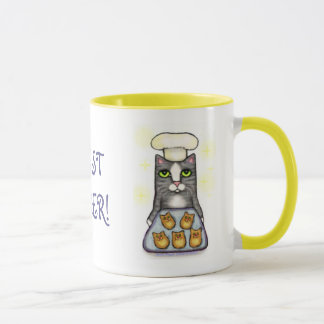 Chef Cat Baking Coffee Mug