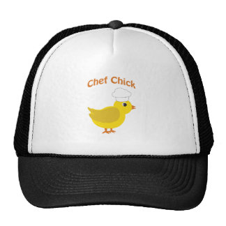 Chef Chick Mesh Hats