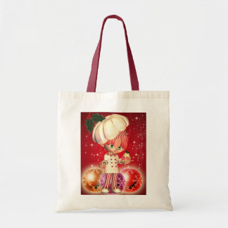 Chef Christmas Bag With Baubles, Chef, Chef Cook,