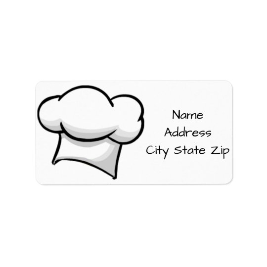 **CHEF COOK AND CATERER'S** RETURN ADDRESS LABELS