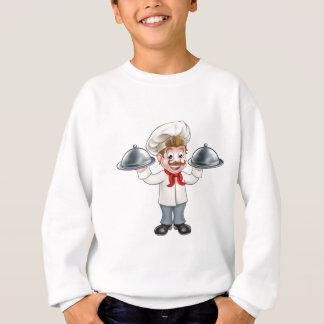 Chef Cook Cartoon Character Mascot Sweatshirt