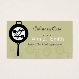Chef Culinary Food Industry Business Card