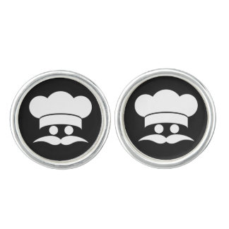 Chef custom color cufflinks