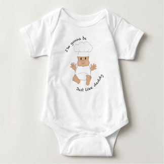 Chef daddy baby bodysuit