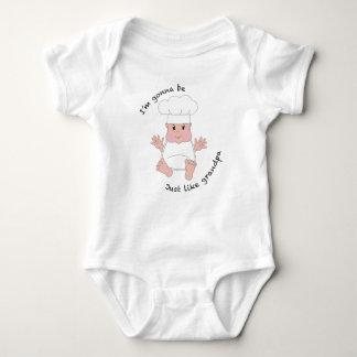 Chef grandpa baby bodysuit