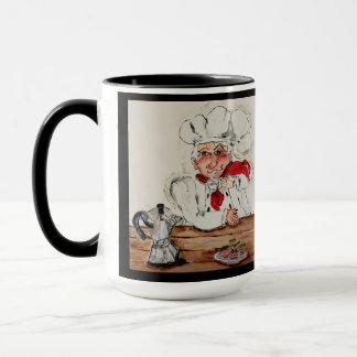 Chef Guiseppe Left Handed Mug