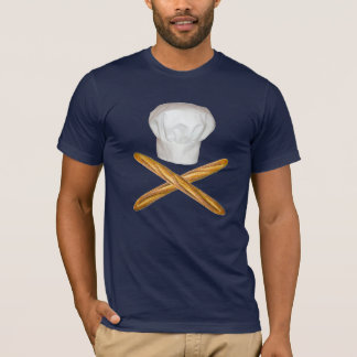 Chef Hat and Cross Buns T-Shirt