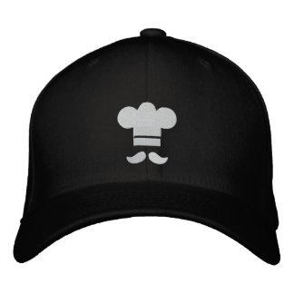Chef Hat Embroidered Cap