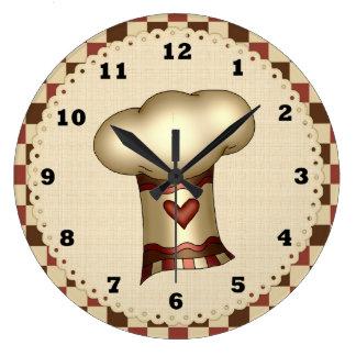 Chef Hat kitchen clock