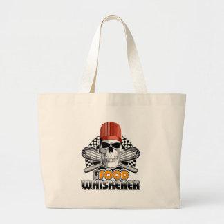 Chef Humor: Food Whiskerer v1 Jumbo Tote Bag