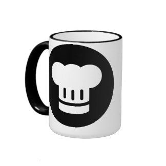 Chef Ideology Ringer Coffee Mug