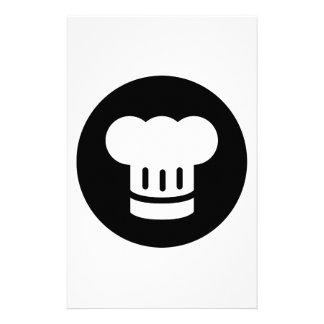 Chef Ideology Personalized Stationery