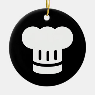 Chef Ideology Round Ceramic Decoration