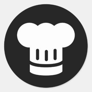 Chef Ideology Round Sticker