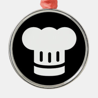Chef Ideology Silver-Colored Round Decoration