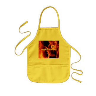Chef in training apron