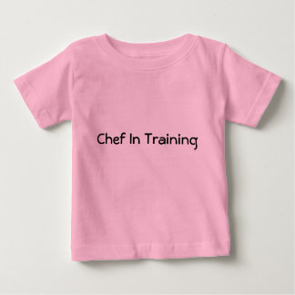 Chef In Training Baby T-Shirt
