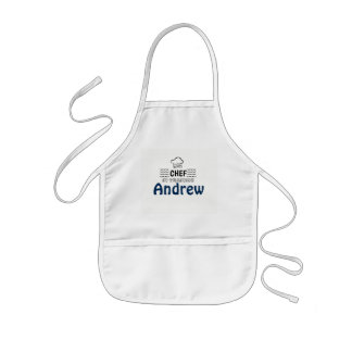 CHEF In Training Personalised Kids Apron