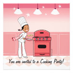 Chef Invitation for Girls
