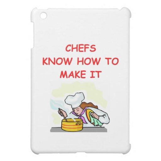 CHEF joke iPad Mini Covers