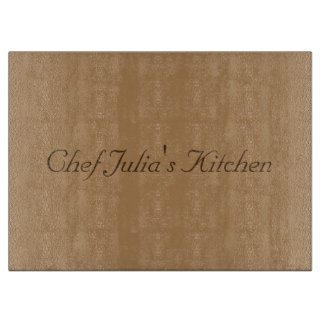 chef Julia's kitchen Cutting Board