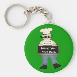 Chef Key Ring