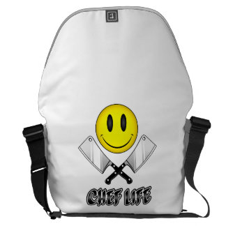 Chef Life: Butcher Smiley Commuter Bag