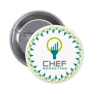 chef marketing 6 cm round badge