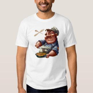 Chef of Spanish Kitchen with Paella - M1 T-shirt