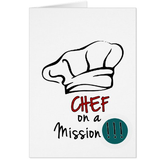 Chef on the Mission Card