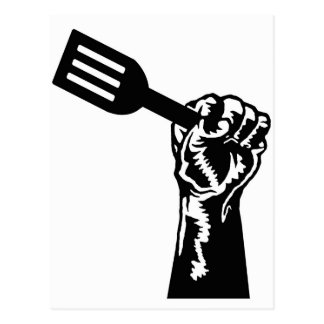 Chef Power Postcard