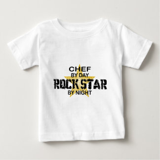 Chef Rock Star by Night Baby T-Shirt