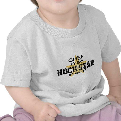 Chef Rock Star by Night Tshirt