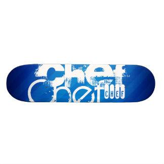 Chef; Royal Blue Stripes Skate Decks