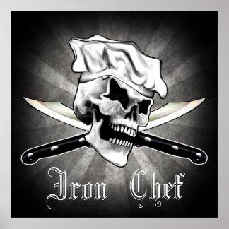 Chef Skull 1.0: Iron Chef Poster