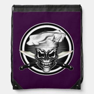 Chef Skull 1 Backpacks